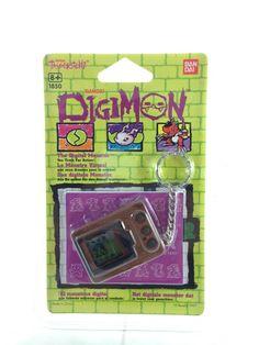 Tamagotchi Digital-Monster (Digimon) Digivice Marron/Brown