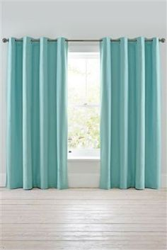 Buy Twill Blackout Eyelet Curtains From The Next UK Online Shop Aqua Dining RoomsTeal