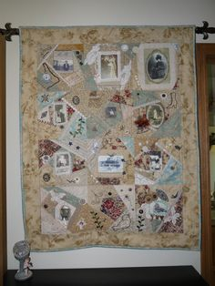The Gronske family quilt. Started by my mother, Dorothy Schenk and completed by me.