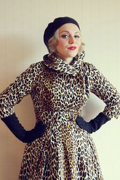great leopard coat