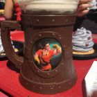 "BUY IT NOW... ONLY.. $38.88 -- New DISNEYLAND BEAUTY And The BEAST ""GASTON BREW STEIN MUG"".... EXCLUSIVELY FROM ""DISNEYLAND'S RED ROSE TAVERN""... ALSO COMES WITH ""BEAUTY And The BEAST MOVIE PREMIERE COLLECTOR'S PIN And MORE !! ( PLEASE CLICK-ON THE PICTURE TWICE TO SEE MORE DETAILS AND MORE GREAT PICS) .... #DISNEYLAND #WaltDisneyWorld #WDW #BeautyAndTheBeast #GASTON #Belle #EmmaWatson #RedRoseTavern #BeOurGuest #STARBUCKS #StarWars #CoffeeMug #DisneyMugs #DisneyFind #ArtFire #Etsy"