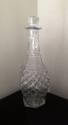 Vintage Pressed Glass Hobnail Pattern Wine / by NashvilleVintageKB, $24.00