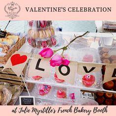 Valentine's Celebration at Julie Myrtille booth