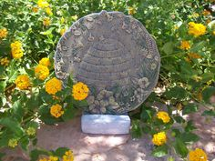 Plaque Holder Outdoor Easel,  Outdoor Display Stand for Signs, Stepping Stones, Memorials, etc.