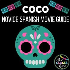 Movie Guide: Coco (for Spanish class) - includes questions in both English or Spanish