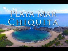 Playa Mar Chiquita Manatí Puerto Rico [[ desde el aire ]] - YouTube