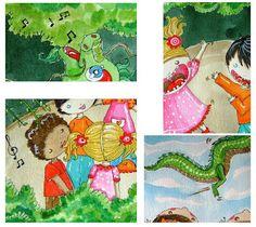 Cores e Coisas: Livro - Ilustrações