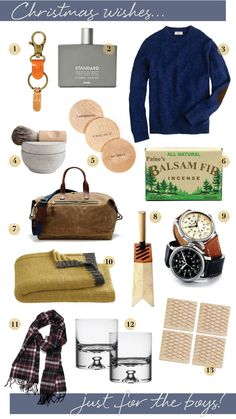 men's holiday gift guide coco+kelley