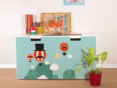 "Furniture+sticker+for+IKEA+STUVA+""Surreal+Balloon""+from+yourdea+by+DaWanda.com"