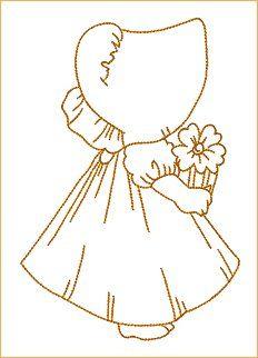 pequeña con flor