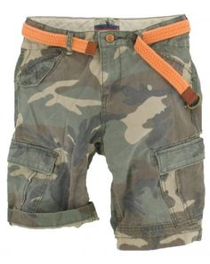 Scotch and Soda Shrunk jongens - Short Camouflage