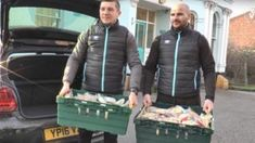Scores of pies and four containers of soup were left over when Salford City's match was postponed. Salford City, Sport Inspiration, Homeless People, Manchester United, Charity, Tamworth, Winter Jackets, Football, Potato Soup