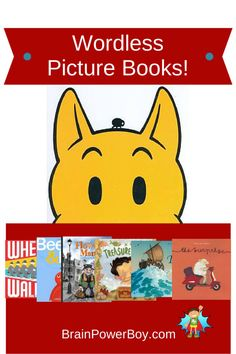 Great Wordless Picture Books to Try