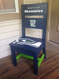 Seattle Seahawks Kids Chair | Do It Yourself Home Projects from Ana White