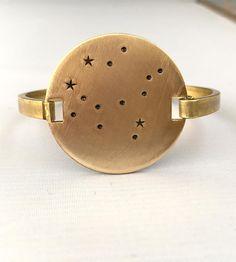 Zodiac Constellation Stamped Bracelet by Océanne on Scoutmob