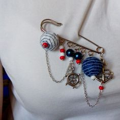 Brooch in the marine style.