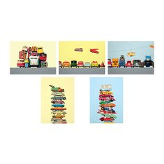 KORT Art card IKEA Motif created by Jeremy Dickinson.