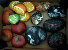How to Paint Rocks   More painted stones