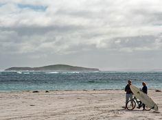 8 Probleme, die ein einfaches Leben lösen kann - Foto: Am Indischen Ozean in Western Australia. (Christof Herrmann, 2006)