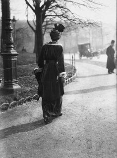France. Bois de Boulogne, Paris, 1914