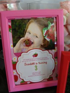 strawberry shortcake birthday...cute!