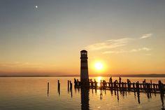 Leuchtturm Podersdorf, Neusiedlersee, Burgenland, Urlaub in Österreich, wanderlust, holiday austria,