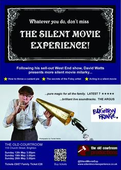 Leaflets help The Silent Movie Experience sell out at Brighton Fringe Festival http://blog.solopress.com/leaflet-printing/leaflets-help-the-silent-movie-experience-sell-out-at-brighton-fringe-festival/ #CharlieChaplin #BrightonFringe