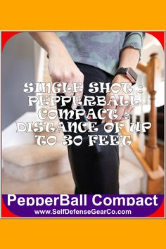 😢💘 Slim and powerful - the COMPACT is a single shot - reloadable*(Reload Kit Sold Separately) PepperBall launcher that can be carried in a pocket - purse - or backpack. Preloaded and ready to shoot - the COMPACT can be deployed quickly and easily. With a launch distance of up to 30 feet - the COMPACT reaches... #personalsecurityguard #personalsecurityproducts #personalsecurityselfdefense #personalsecurityvideos #personalsecuritydetail Personal Security, Personal Safety, Personal Defense, Distance, Cool Things To Buy, Compact, Backpack, Product Launch