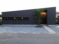 Facade Design, Exterior Design, Architecture Design, Modern Contemporary Homes, Japanese House, Facade House, Building Materials, Tiny House, New Homes