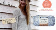 'Patons' Cotton Blend Spray 50g
