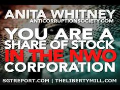 WOW!!! Very Informative. YOU Are A Share Of Stock In The Corporation -- Anita Whitney - YouTube