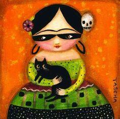 Frida Kahlo by Tasha