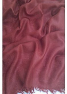 Elegant Maroon 100% Cashmere Pashmina Sacrves From Jazzmin. [Reputed name in Kashmiri Scarf]