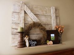 i love this!!! i have a few decor items already like this. i just need to put it all together now!