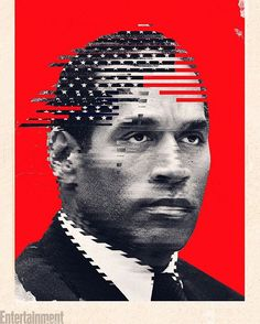 #OJMadeInAmerica snagged the number one spot in our list of 2016's BEST TV shows!  The docuseries contained a richly reported portrait of the football legend and deconstructed the culture that shaped, enabled and exploited him.  What did you think of the fascinating series? : ILLUSTRATION by LINCOLN AGNEW for EW