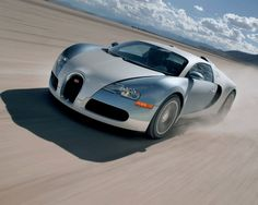 The ultimate shot of a Bugatti Veyron from carhoots.com Sensational!