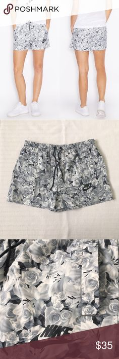 Women's Nike Floral Print AOP Shorts Women's Nike Floral Print AOP Shorts Style/Color: 840655-010  • Women's size Small  • NEW with tags • No trades •100% authentic Nike Shorts