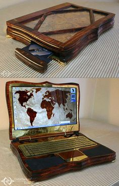 If Laptops Existed 150-Years Ago - TechEBlog (now that's my kind of laptop!)
