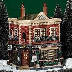 "Department 56: ""The Horse And Hounds Pub.""  #58340. 6 x 6.5 x 8.5""   	Introduced December, 1998. Retired December, 2004"