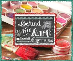 Christy Tomlinson - Behind the Art -.