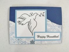 Handmade Hanukkah Card by Scrappin2some on Etsy