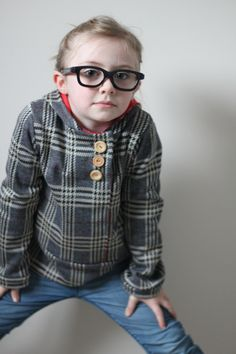 NEW SIZING Urban Unisex Hoodie pattern and tutorial 6- 12 years PDF pattern boy girl. $6.95, via Etsy.
