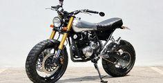 Modifikasi Motor Scorpio Klasik