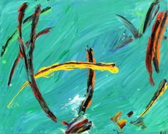 Grasshopper - Abstract Art by Eric Siebenthal - Acrylicmind.com