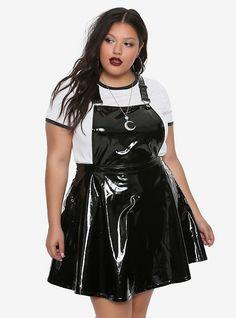 Plus Size Punk, Goth & Alternative Clothing Black Women Fashion, Curvy Fashion, Plus Size Fashion, Womens Fashion, Fashion Edgy, Fashion Fall, Fat Fashion, Street Fashion, Fashion Online
