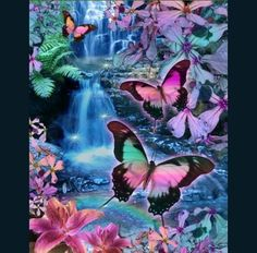 Butterfly world - 3D and CG & Abstract Background Wallpapers on ...