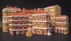 Le casette in miniatura Mini Terre della tipologia Roma