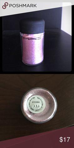 MAC glitter Pigment Shadow MAC glitter pigment shadow. Never used. MAC Cosmetics Makeup Eyeshadow