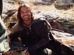 Being around Viggo Mortenson, must be like being around the sun. HIS SMILE. Glorious.