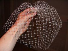 The Dapper Bun: DIY Style: How To Make A Birdcage Veil